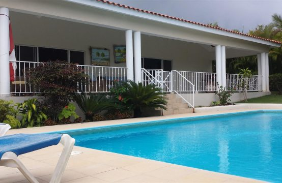 Delightful 4 bedroom villa in Sosua for sale